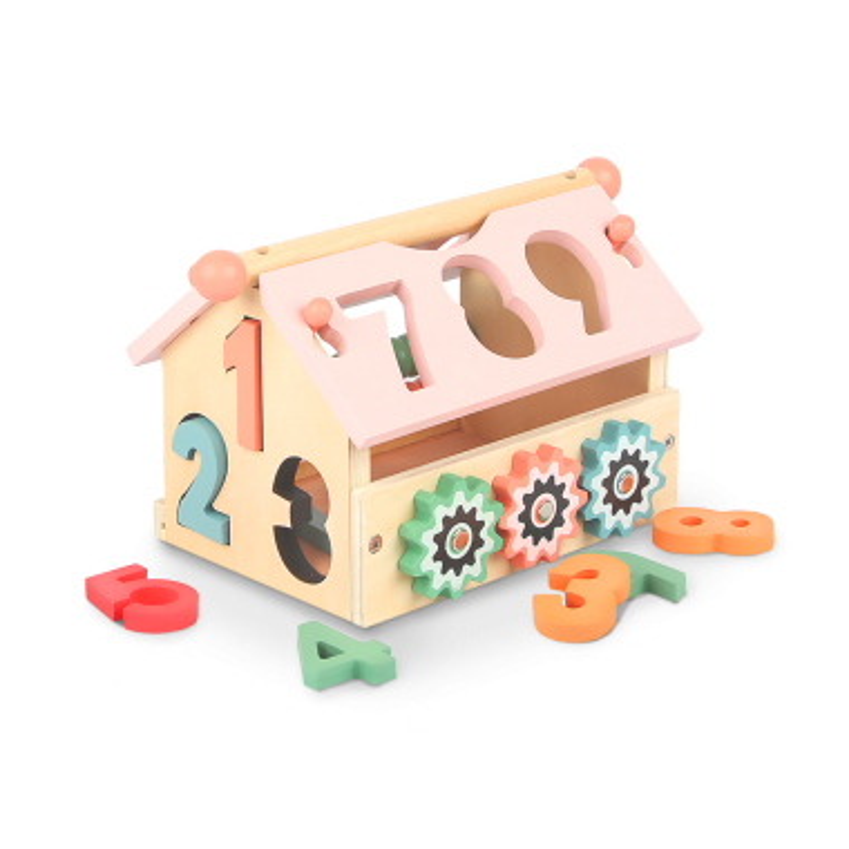 NUMBER HOUSE de madera como producto recomendado