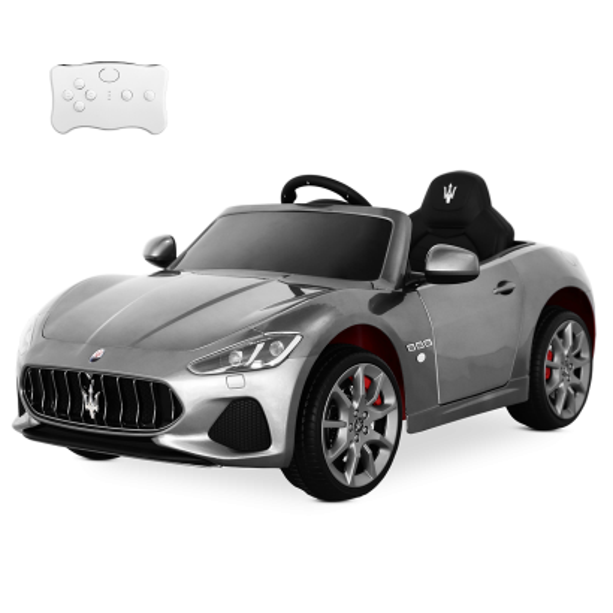 Playkin - MASERATI PLATA coche de batería 12V