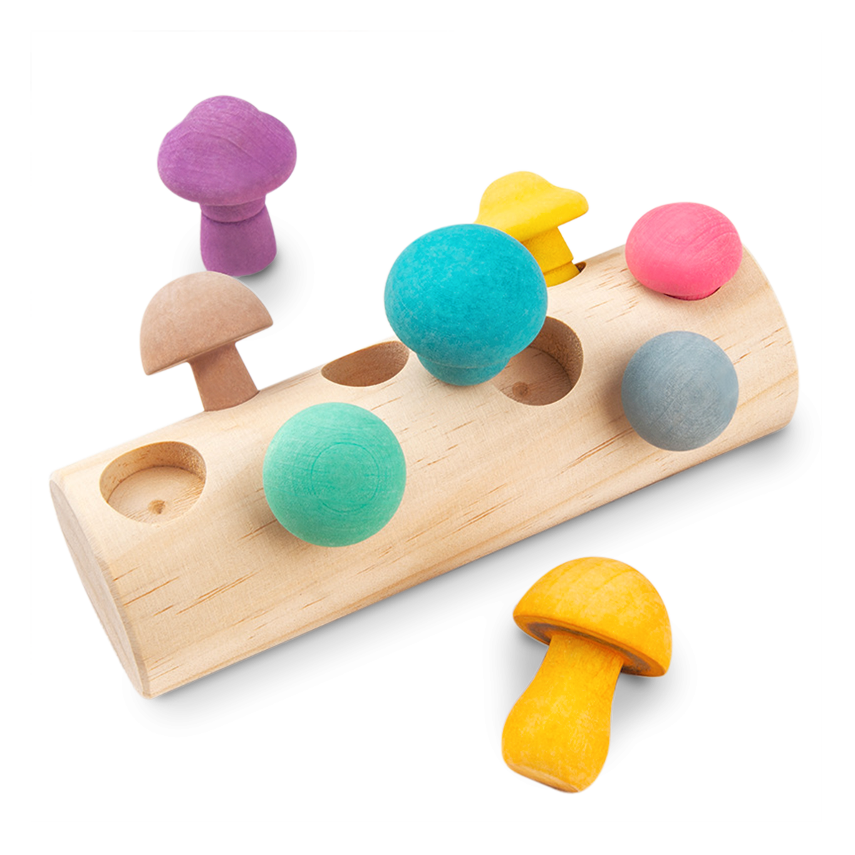 MUSHLOOM puzle 3D de madera