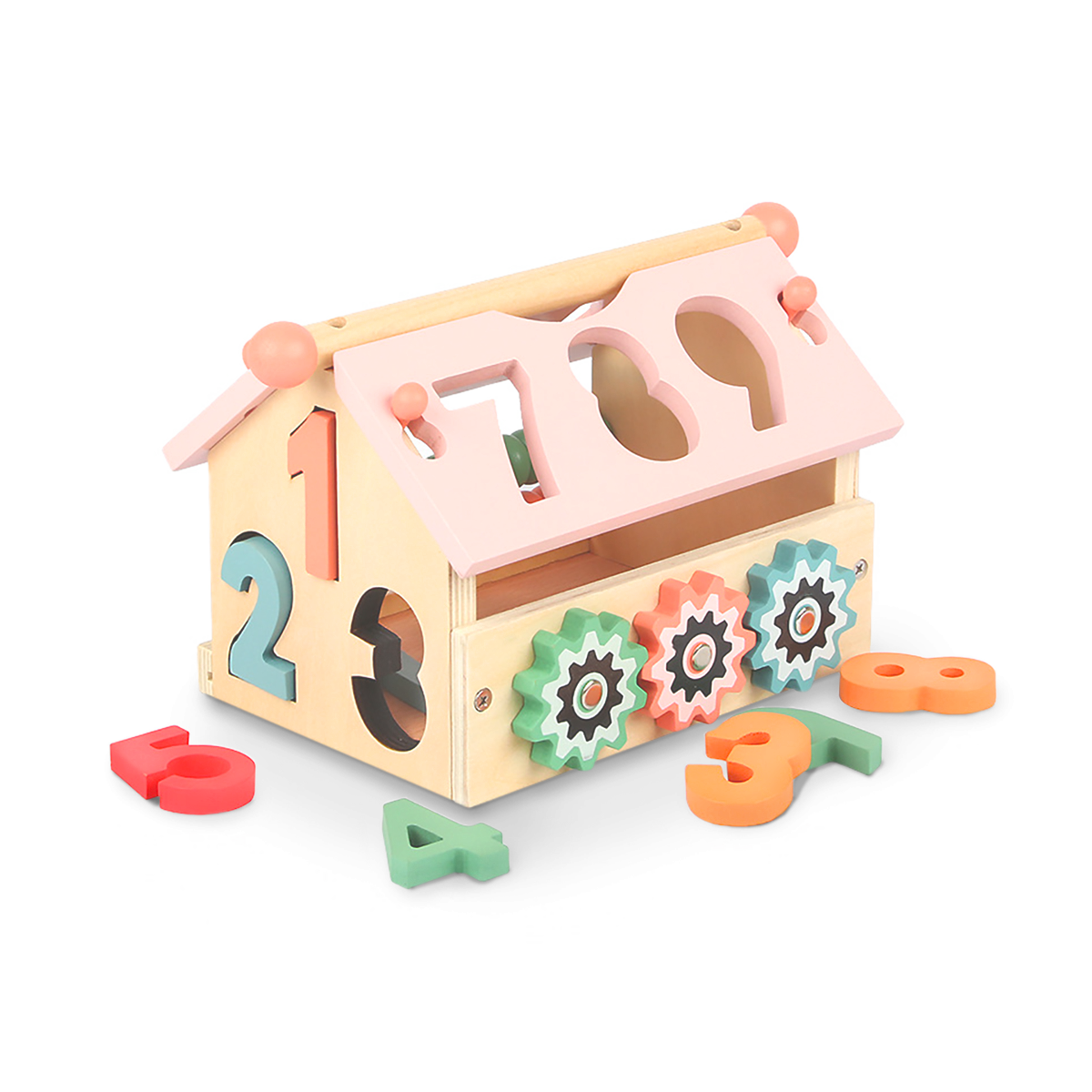 NUMBER HOUSE de madera